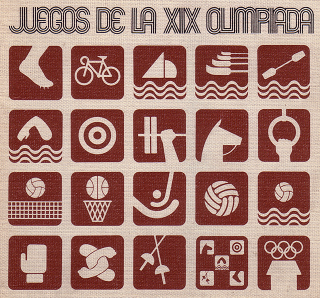 10_1968_Mexico_Olympic_pictograms